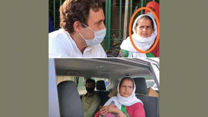 fact check : rahul gandhi discuss with migrant workers in sukhdev vihar is staged?