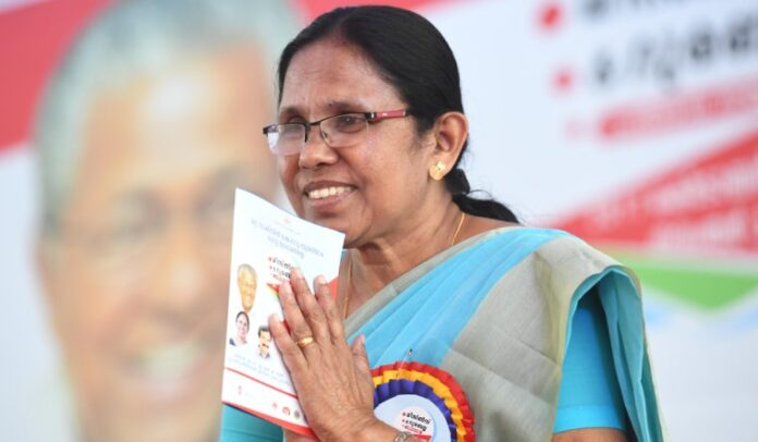 ಕೆ.ಕೆ. ಶೈಲಜಾ ಟೀಚರ್ಗೆ ಪ್ರತಿಷ್ಟಿತ ಓಪನ್ ಸೊಸೈಟಿ ಪ್ರಶಸ್ತಿ