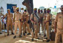 ಹತ್ರಾಸ್ ಸಂತ್ರಸ್ತೆ ಮನೆ ಸುತ್ತ ಪೊಲೀಸ್ ಸಿಬ್ಬಂದಿ ನಿಯೋಜನೆ