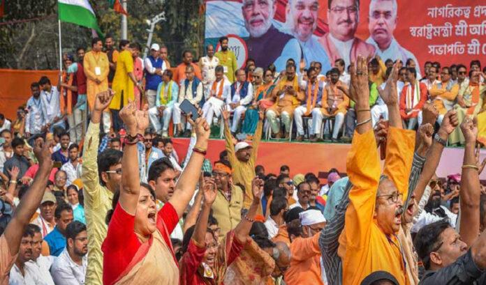 ಪ.ಬಂಗಾಳ: 'ಗೋಲಿ ಮಾರೋ ಸಾ***ಕೋ' ಘೋಷಣೆ ಕೂಗಿದ 3 ಬಿಜೆಪಿ ಕಾರ್ಯಕರ್ತರ ಬಂಧನ