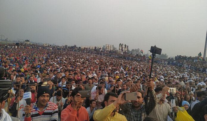 'ಮೋದಿ-ಶಾ ನೇರ ಮಾತುಕತೆಗೆ ಬರಲಿ'- ಜಿಂದ್ ಮಹಾಪಂಚಾಯತ್ನ ಮಹಾ ನಿರ್ಣಯ