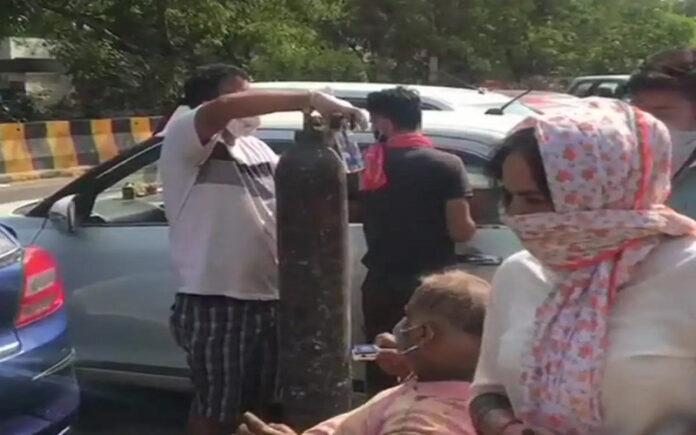 ಕೊರೊನಾ ಸೋಂಕಿತರಿಗಾಗಿ ಆಕ್ಸಿಜನ್ ಲಂಗರ್ ಆರಂಭಿಸಿದ ಗುರುದ್ವಾರ