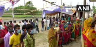 ಬಂಗಾಳ ಚುನಾವಣೆ: ಕೊರೊನಾ ಕರಿನೆರಳಿನಲ್ಲಿ 6ನೇ ಹಂತದ ಮತದಾನ
