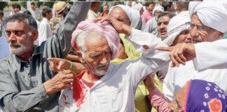 ಹರಿಯಾಣ ಸಿಎಂ ವಿರುದ್ಧ ಪ್ರತಿಭಟನೆ: ರೈತ ಹೋರಾಟಗಾರರ ಮೇಲೆ ಲಾಠಿಚಾರ್ಜ್