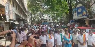 ವಿಡಿಯೋ| ಸಾರಿಗೆ ಮುಷ್ಕರ ಆರನೇ ದಿನಕ್ಕೆ-ತಟ್ಟೆ, ಲೋಟ ಬಡಿದು ನೌಕರರ ಪ್ರತಿಭಟನೆ! | Naanu gauri