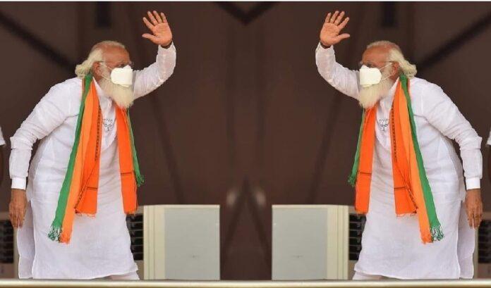 ಬಂಗಾಳ: 'ಬಿಜೆಪಿ ಸೆಂಚುರಿ ಹೊಡೆದಿದೆ; ಮಮತಾ ಕ್ಲೀನ್ ಬೌಲ್ಡ್' - ನರೇಂದ್ರ ಮೋದಿ