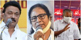'Didi' for Bengal, Tamil Nadu for 'Stalin', Kerala for 'Vijayan'!