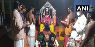 ತಮಿಳುನಾಡು: ಕೋವಿಡ್ ನಿವಾರಣೆಗೆ ಕೊರೊನಾ ದೇವಿ ದೇವಾಲಯ ನಿರ್ಮಾಣ