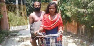 ಲಾಕ್ಡೌನ್-2020 ಸಮಯದಲ್ಲಿ 1200 ಕಿ.ಮಿ ಸೈಕಲ್ ತುಳಿದಿದ್ದ ಬಾಲಕಿಯ ತಂದೆ ಸಾವು | Naanu gauri
