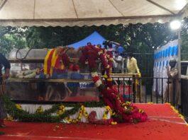 ನಟ ಸಂಚಾರಿ ವಿಜಯ್ ನಿಧನ: ಗಣ್ಯರು, ಅಭಿಮಾನಿಗಳಿಂದ ಅಂತಿಮ ದರ್ಶನ