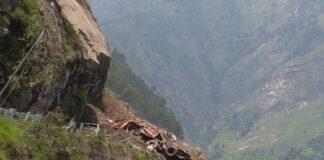 ಹಿಮಾಚಲ ಪ್ರದೇಶ: ಭೂಕುಸಿತಕ್ಕೆ ಓರ್ವ ಬಲಿ, ಅವಶೇಷಗಳ ಅಡಿಯಲ್ಲಿ 30ಕ್ಕೂ ಹೆಚ್ಚು ಮಂದಿ