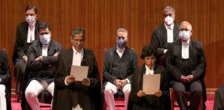 ಸುಪ್ರೀಂ ಕೋರ್ಟ್: 9 ನೂತನ ನ್ಯಾಯಾಧೀಶರಿಂದ ಪ್ರಮಾಣವಚನ ಸ್ವೀಕಾರ