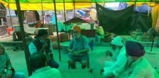 ದೆಹಲಿ: ರೈತ ಪ್ರತಿಭಟನಾಕಾರರನ್ನು ಭೇಟಿಯಾದ ಸಂಸದ ಡಿ.ಕೆ. ಸುರೇಶ್