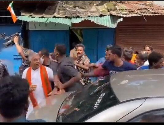 ಭವಾನಿಪುರ: ಟಿಎಂಸಿ ಕಾರ್ಯಕರ್ತರ ಮೇಲೆ ಹಲ್ಲೆ ಆರೋಪ ಮಾಡಿದ ದಿಲೀಪ್ ಘೋಷ್