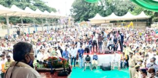 ಬಿಜೆಪಿಯವರು ಹಿಂಬಾಗಿಲ ಮೂಲಕ ಮಾತ್ರ ಅಧಿಕಾರಕ್ಕೆ ಬರಬಲ್ಲರು- ಸಿದ್ದರಾಮಯ್ಯ