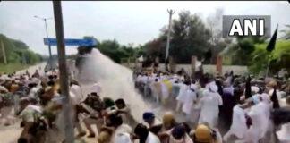 ಹರಿಯಾಣ: ಪ್ರತಿಭಟನಾನಿರತ ರೈತರ ಮೇಲೆ ಮತ್ತೆ ಜಲ ಫಿರಂಗಿ ಬಳಸಿದ ಪೊಲೀಸರು