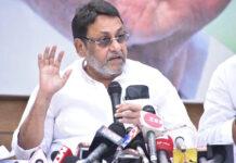 NCB ಅಧಿಕಾರಿ ಸಮೀರ್ ವಾಂಖೆಡೆ ಚಿತ್ರೋದ್ಯಮವನ್ನು ಸುಲಿಗೆ ಮಾಡುತ್ತಿದ್ದಾರೆ: ನವಾಬ್ ಮಲಿಕ್